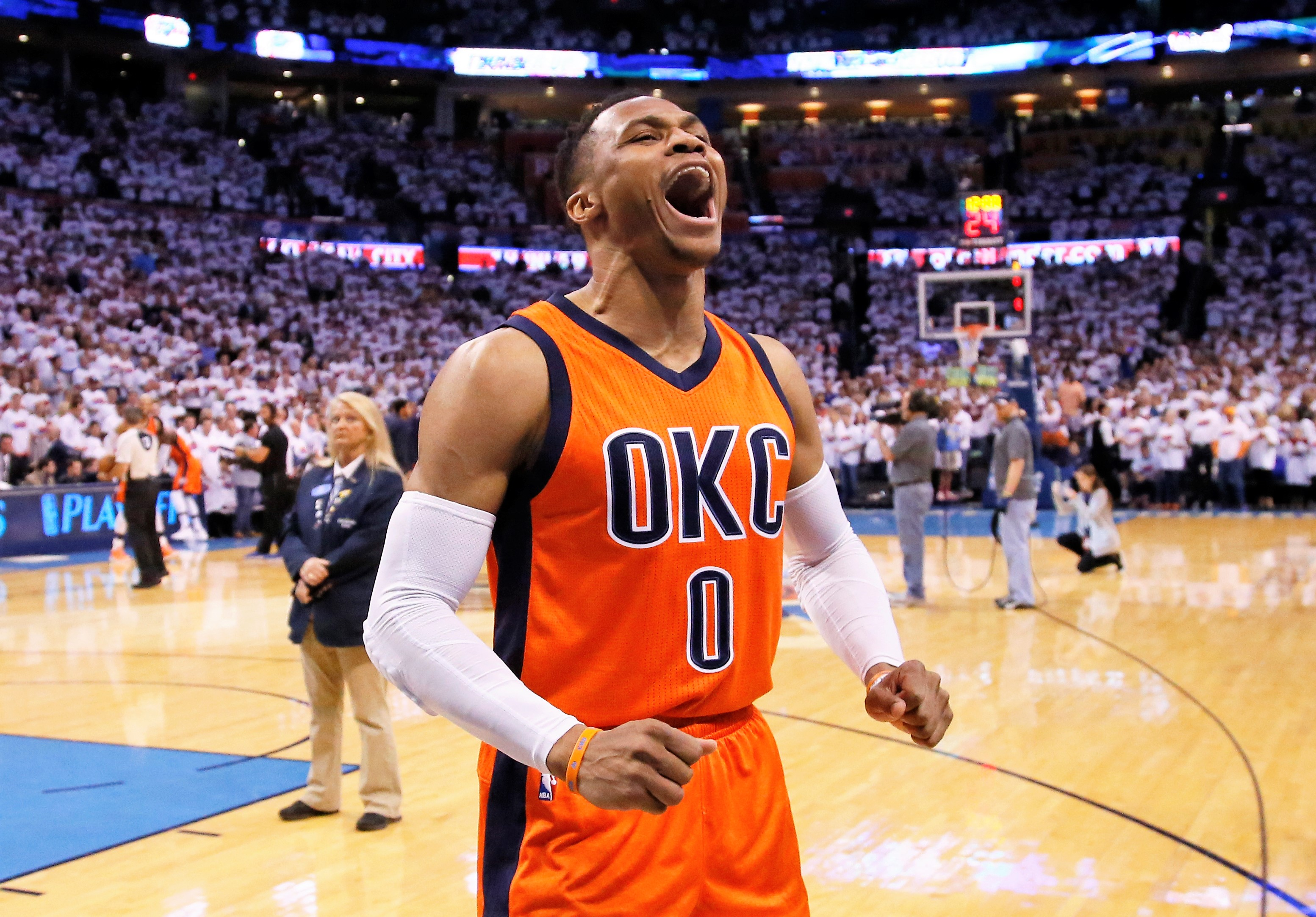 John E. Hoover  Russell Westbrook was made for this MVP award d3f4ab7ce