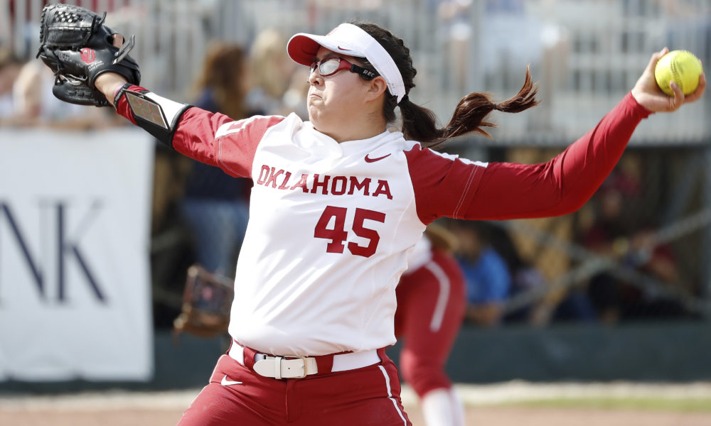 OU Softball wins first perfect NCAA game in program history