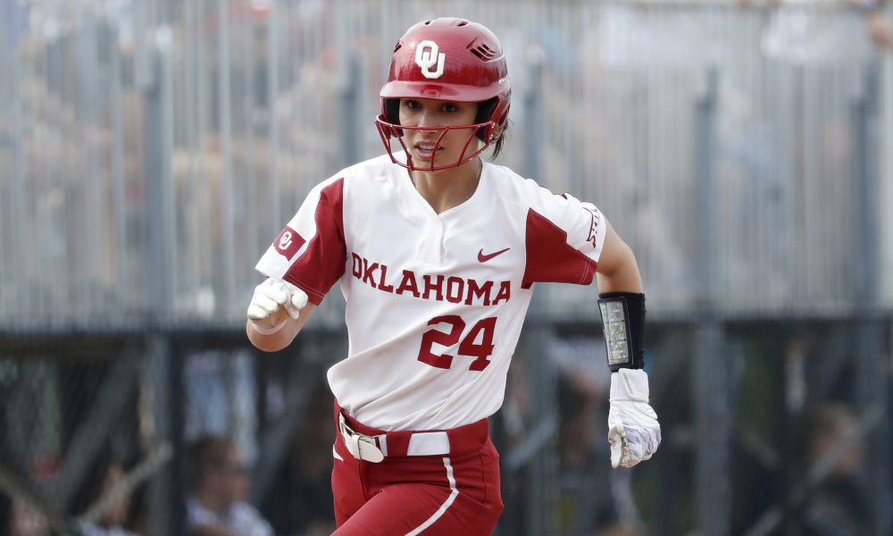 the latest 527bc a33b3 Sooner softball stunned in regionals - The Franchise