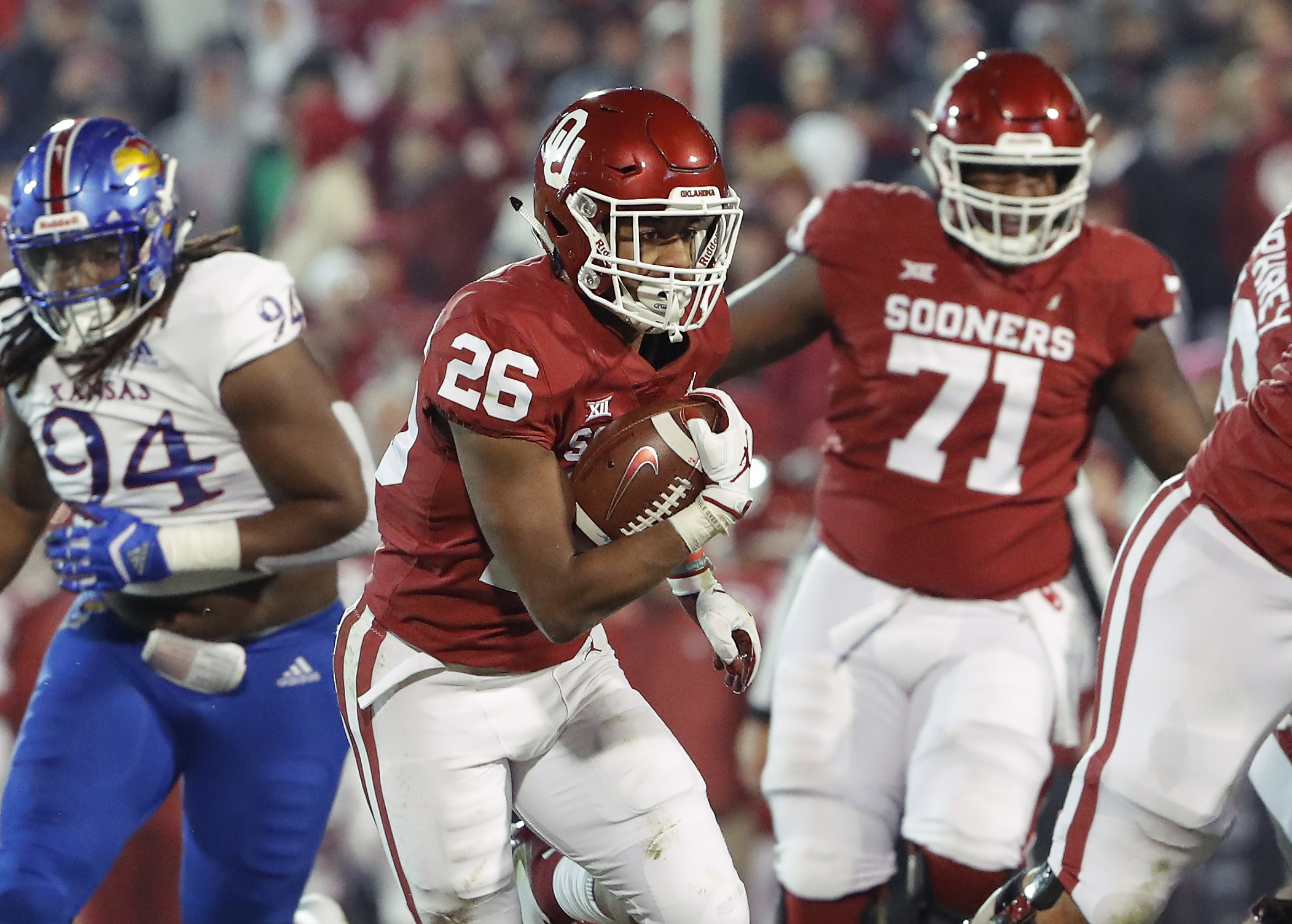 John E. Hoover: Sooners' Kennedy Brooks reportedly cleared ...